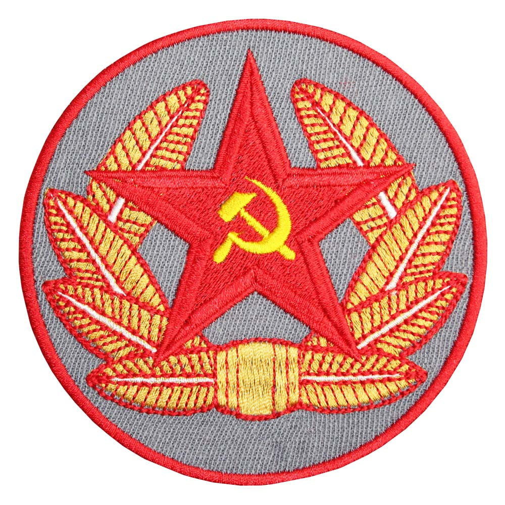 Naughtees clothing Strampler Hammer Sichel USSR Kommunistische Era Rot Baumwolle