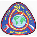Expedition 6 patch the International Space Station ISS  Sew-on handmade embroidery