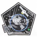 CRS-15 SpaceX patch Space SPX-15 Mission Elon Musk Falcon-9 Nasa Sew-on handmade embroidery