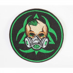STALKER Chernobyl mutants  sign Radiation gas mask patch embroidery