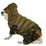 Russian NO FLEECE pet Gorka uniform Partizan camo wear with hood Waterproof military style outdoor tactical clothing