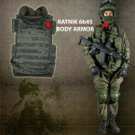 Russian Military Army Vest Digital Camo Armor Ratnik Molle 6b45 Bulletproof Tactical Body Armor
