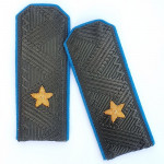 Soviet Union Military General Major Air Forces Shoulder Boards