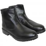 Russian Modern Officer's Parade Demi-Season Black Boots on the zipper