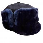 Russian Vintage Original Police Winter hat Ushanka USSR
