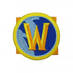 MMORPG WOW Game Logo World of Warcraft Gaming Sleeve Embroidered Sew-on/Iron-on/Velcro Patch