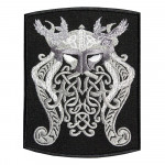 Scandinavian God Odin Embroidered Sew-on / Iron-on / Velcro Patch