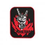 Samurai Anime Punk Embroidered Sew-on / Iron-on / Velcro Patch