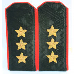 USSR Russian Colonel General Shoulder Boards