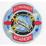 Spaceship patch Astronaut Academy Embroidery Sew-on Sleeve Space expedition