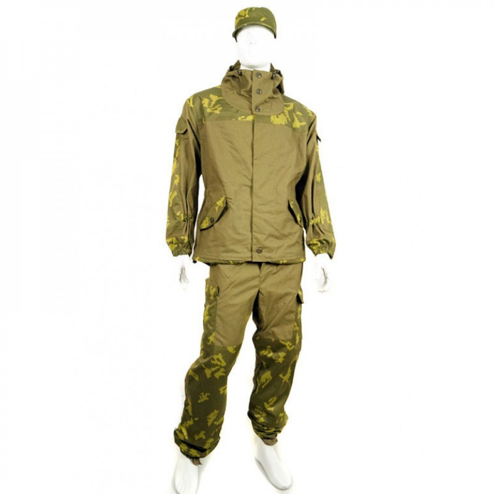 Gorka 3 yellow leaf KLMK oak camouflage Spetsnaz uniform