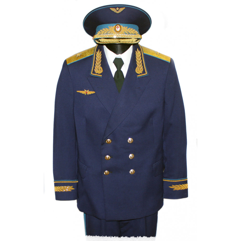 Very rare genuine air forсe general of soviet union uniform