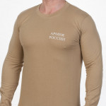 Military body t-shirt with long sleeves Russian Army cotton
