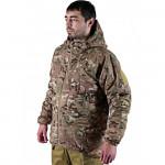 Winter Russian tactical jacket MULTICAM camo BARS
