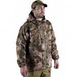 Cyclone winter tactical jacket A-TACS camo BARS