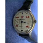 Russian Commanders wristwatch 18 Jewels Molniya