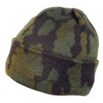 Russian winter Camo knitted hat