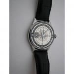 Soviet 1977 ARCTIC iceboat wrist watch MOLNIJA Transparent