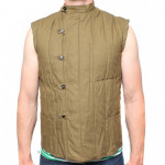 Russian sleeveless military warm jacket