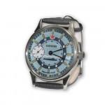 Molniya Submarine Captain`s Russian mechanical wrist watch 18 jewels