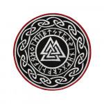 Celtic Symbol of God Mythology Embroidery Sleeve Sew-on/ Iron-on / Velcro Patch