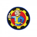 GOTY Game Fallout Logo Embroidered Sew-on / Iron-on / Velcro Patch