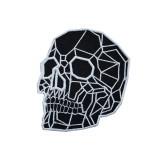 Punk Tattoo Dark Skull Embroidered Sew-on/Iron-on/Velcro Patch