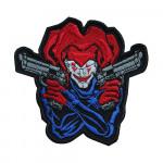 Joker Bad Guy Comics Hero Embroidered Sew-on/Iron-on/Velcro Patch