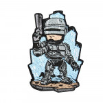 Robocop Old Style Video Game Embroidered Sew-on / Iron-on / Velcro Patch