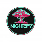 """""""Night City"""" CD Project Game Embroidery Sew-on / Iron-on / Velcro Patch"""