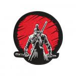 Game Samurai Sekiro Embroidery Sleeve Sew-on / Iron-on / Velcro Patch