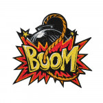 Fun Game Boomb Boom Embroidered Sew-on / Iron-on / Velcro Patch