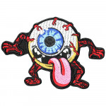 Halloween Fun Eye Monster Embroidered Sleeve Sew-on / Iron-on / Velcro Patch