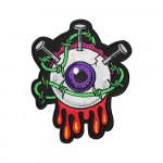 Eye Monster Halloween Sew-on / Iron-on / Velcro Patch