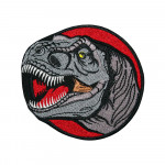 Dinosaur Embroidered Sew-on / Iron-on / Velcro Patch