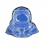 NASA Astronaut Space Mission Patch Embroidered Sew-on / Iron-on / Velcro Patch