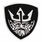 Scandinavian God Odin Sew-on / Iron-on / Velcro Embroidered gift Patch