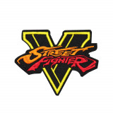 """Fighter Game """"Street Fighter"""" Embroidered Sleeve Sew-on/Iron-on/Velcro Patch"""