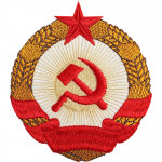 USSR star hammer and sickle CCCP Embroidered sleeve patch