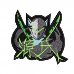 Overwatch Genji Champion Logo Sleeve Embroidered Sew-on/Iron-on/Velcro Patch