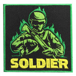 Special Forces Soldier Embroidery Custom Sew-on / Iron-on / Velcro Patch