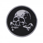 Flag Skull In A Beret Military Game Airsoft Russian Embroidered Sew-on Patch #1