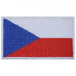 The Czech Republic Flag Embroidered High-quality Sew-on Handmade Patch #2