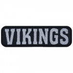 Vikings Embroidered Strip Sew-on Nordic mythology Sew-on Patch #1