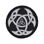 Celtic Embroidery Ancient knot Sew-on Machine patch