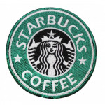 Starbucks Coffee Corporation embroidery Sew-on Sleeve patch