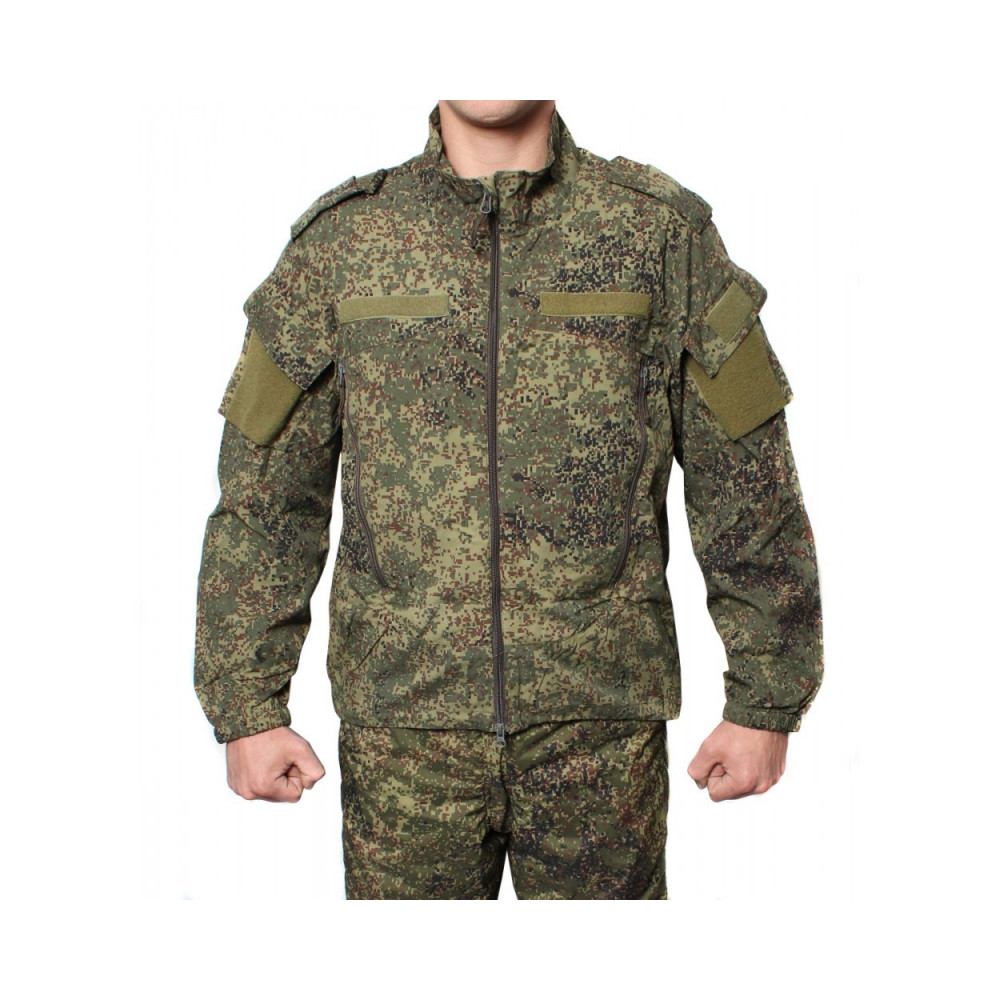 Russian Army BTK windproof modern military jacket Pixel camo
