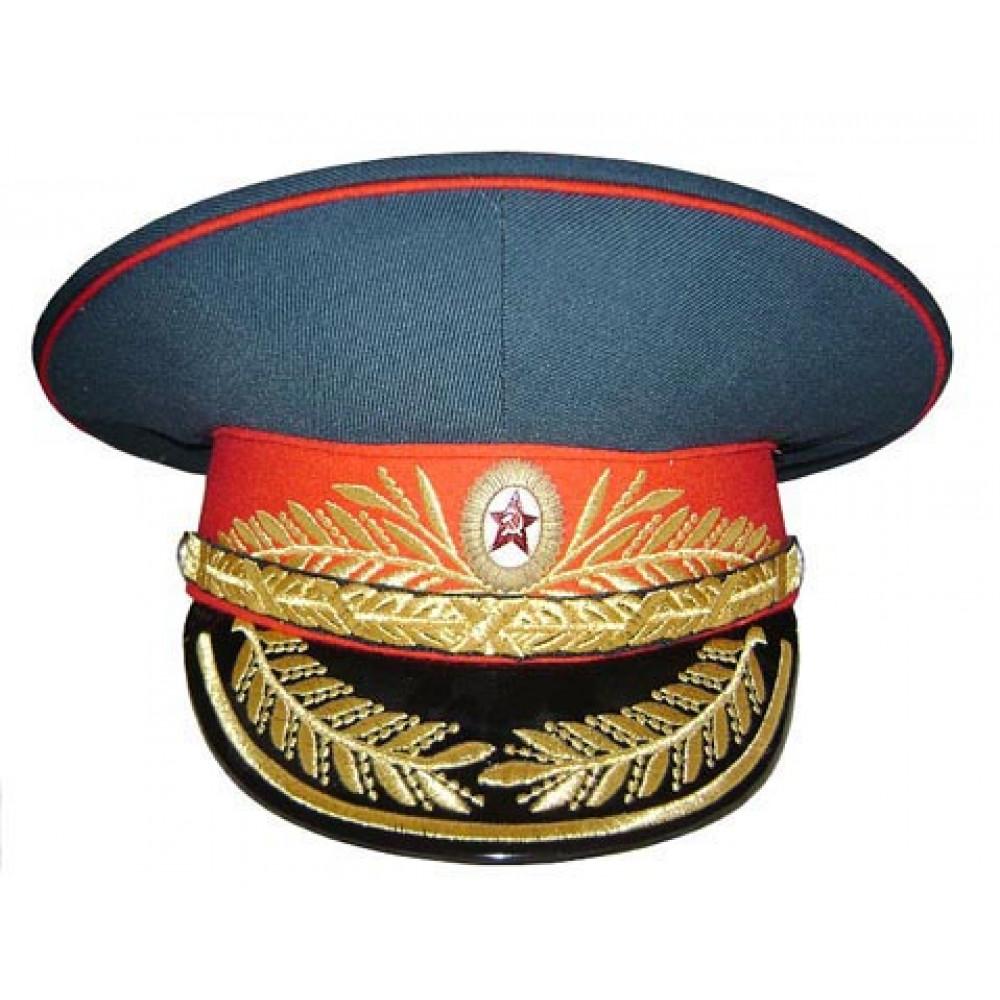 ソビエト/ロシア歩兵連隊将軍バイザー帽子m69