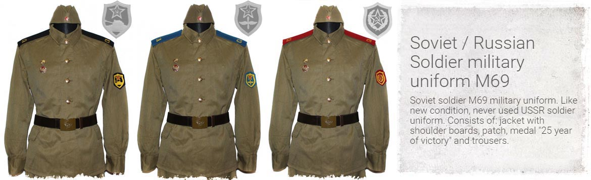 Soviet / Russian Soldier military uniform M69
